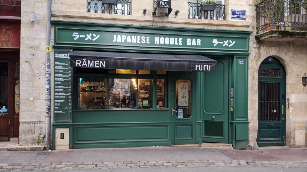 Bordeaux Self-guided Walking Itinerary- Fufu Ramen