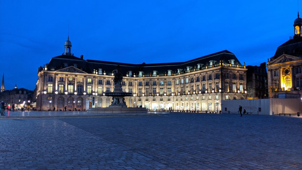 Bordeaux Self-guided Walking Itinerary- Place de la Bourse, Bordeaux