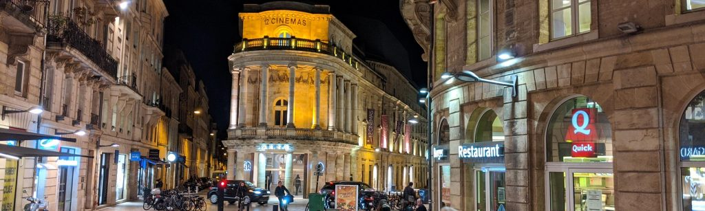 Bordeaux Self-guided Walking Itinerary- Cinéma CGR Bordeaux Le Français